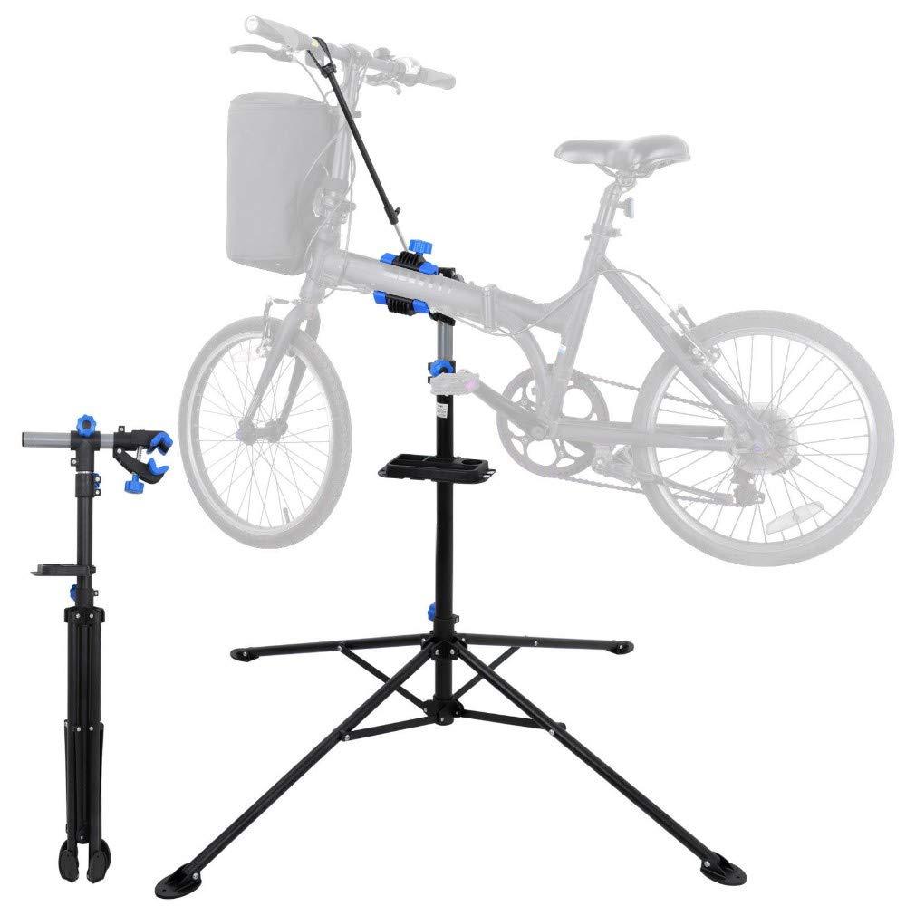 42'' to 74'' Adjustable Bike Repair Stand Tool Tray Bicycle Cycle Rack Work Home- Sold by Jsa Sales!