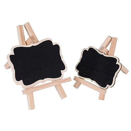 Set da 20 pz) Lavagnette Mini Lavagna con Cavalletto per ...