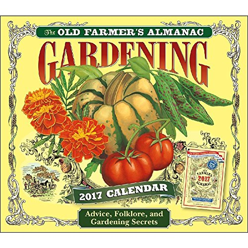 The Old Farmer's Almanac Gardening 2017 Daily Desk Boxed Calendar (Planting Chart compare prices)