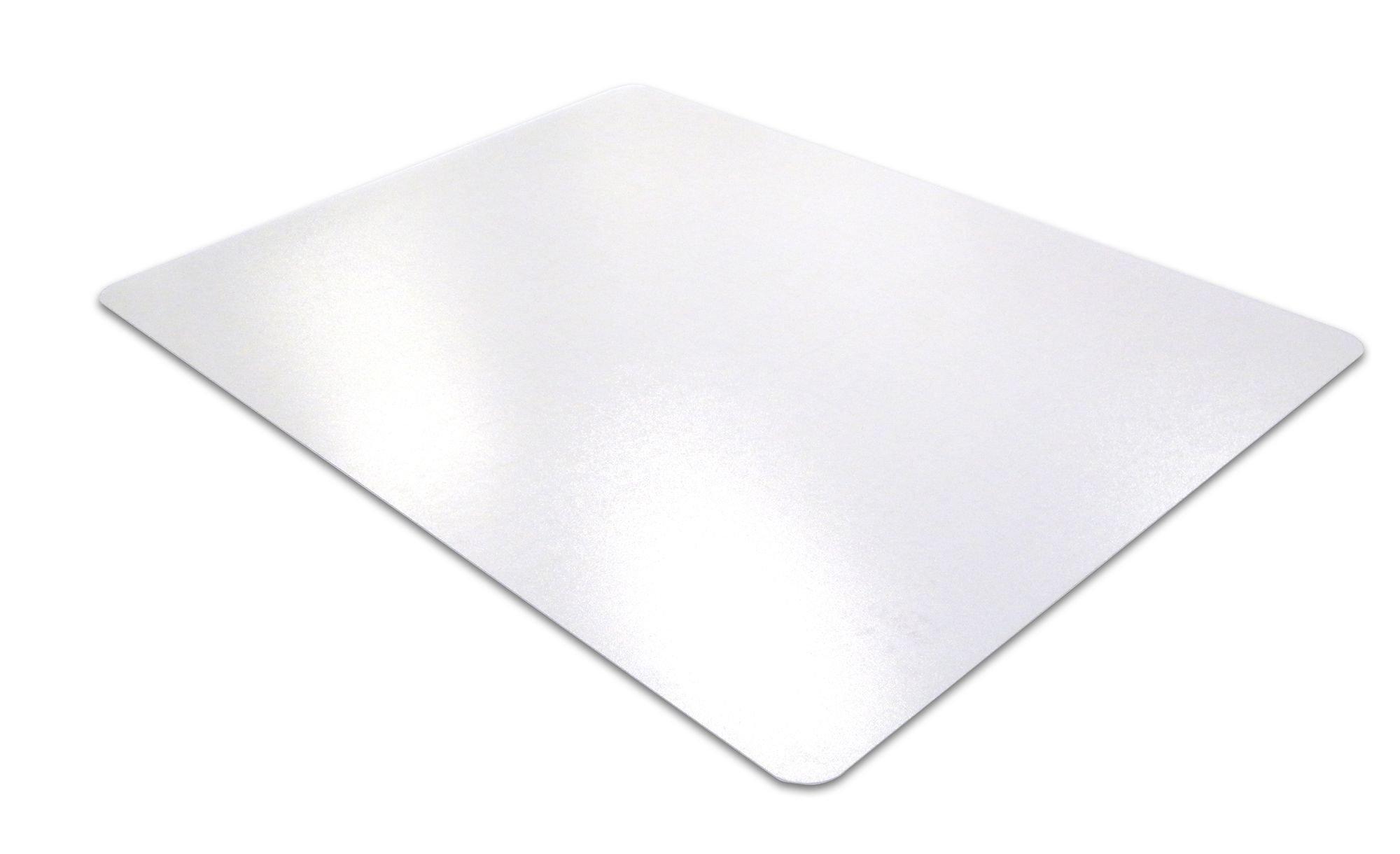 Desktex PVC Smooth Back Desk Mat, 20'' x 36'', Rectangular, Clear (FBDE2036V)