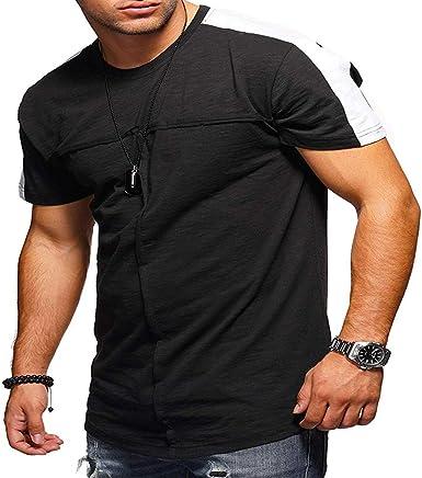 Camisa De Manga Corta para Hombre Camiseta Algodón De Calidad ...