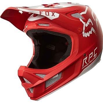 Fox Rampage Pro Carbon Moth - Cascos integrales - rojo/blanco Contorno de la cabeza
