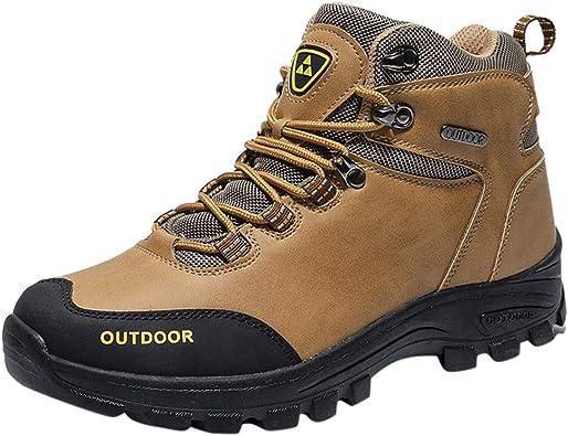 FANSHONN Men's Waterproof Hiking Boots