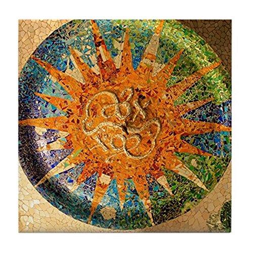 (CafePress - Park Guell Barcelona - Tile Coaster, Drink Coaster, Small Trivet)