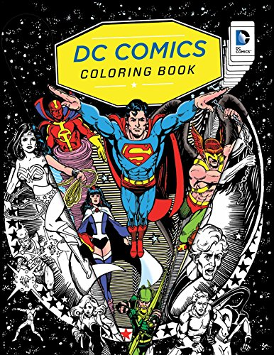 Pdf Crafts DC Comics Coloring Book
