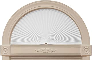 """product image for Original Arch Light Filtering Fabric Shade, White, 72"""" x 36"""""""