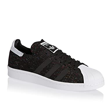 plus récent 75ec9 144fb Adidas Superstar 80's Primeknit Homme Baskets Mode Noir ...