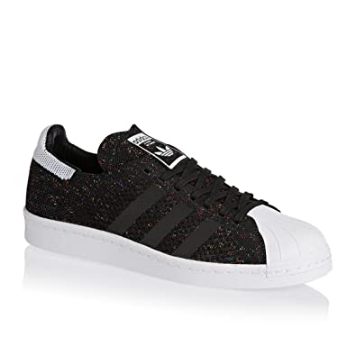 on sale a8193 6fc4a Adidas Superstar 80s Primeknit Herren Sneaker Schwarz core blackftwr white  42 EU - associate-degree.de