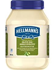 Hellmanns Olive Oil Mayonnaise 890mL