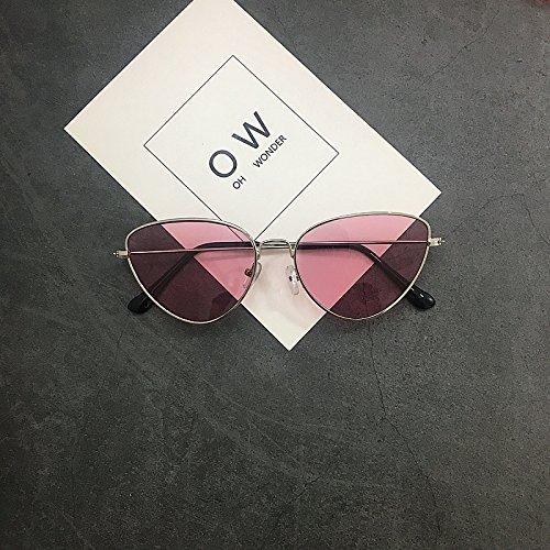 De Oscuro Sol Mujer Hombres Gafas Ocean A Y Mujeres Vviiyj Powder Triangular rojo OgqfZ1