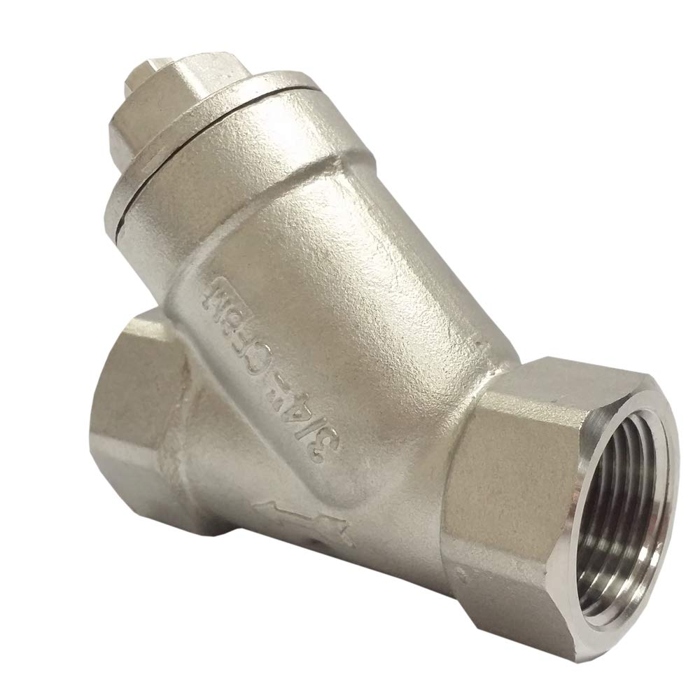 1 1//2NPT Y-Strainer Stainless Steel 316 800PSI with Mesh Size 1.0MM