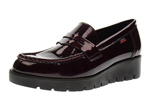 CALLAGHAN Mocasines Zapatos de Mujer con cuña de 89.803 AMAN Burdeos: Amazon.es: Zapatos y complementos