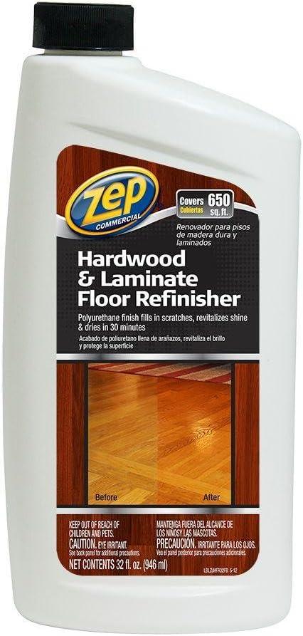 Amazon Com Zep 32 Oz Hardwood And Laminate Floor Refinisher