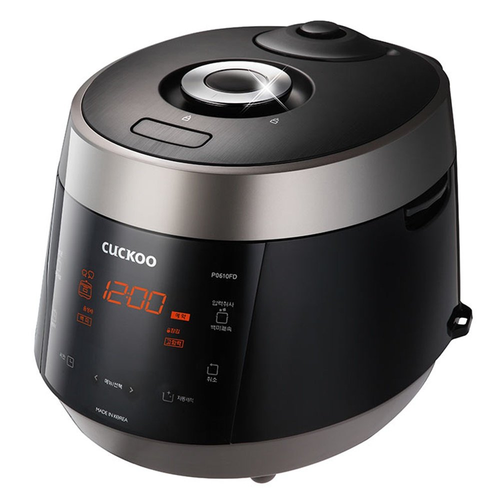 CUCKOO CRP-P0610FD 6 Cup Electric Heating Rice Cooker 220V Kitchen Home