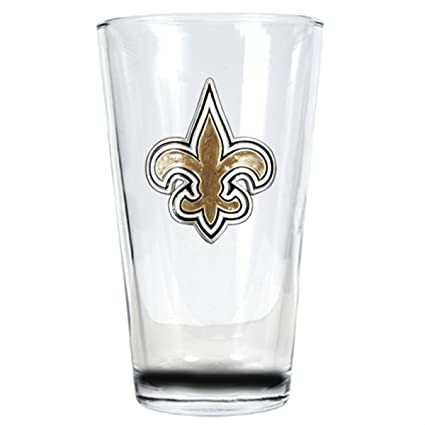 aa05b1d6653 Image Unavailable. Image not available for. Color  Officially Licensed NFL  16oz Pint Glass ...