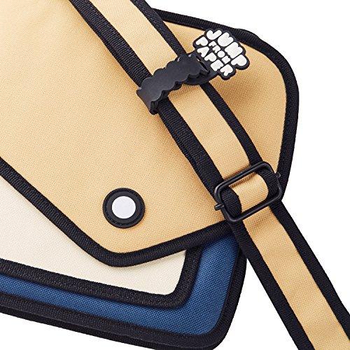 Blue Women Coo Cartoon for from Giggle Bag Bag Shoulder Men jump JumpFromPaper Bag paper for Coo Bag qtgwv8