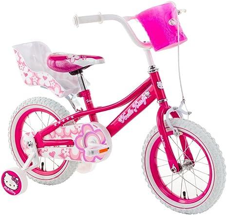 Bicicleta para niños Hello Kitty Shinny 14 bicicleta: Amazon.es ...