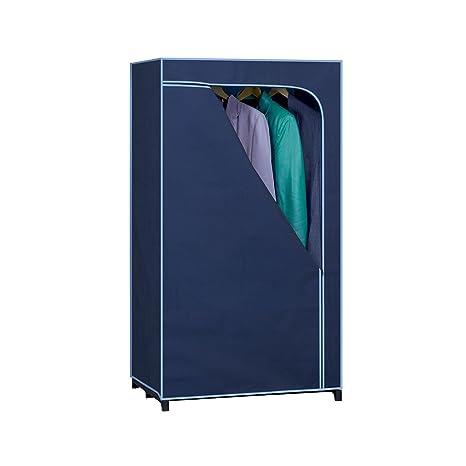 Rayen 2382 - Armario de tela de plástico, 140 x 75 x 50 cm,