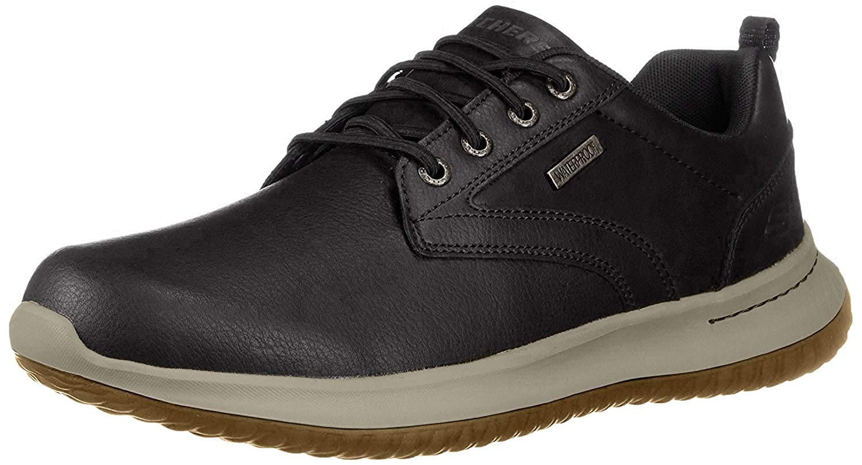 Skechers Delson-Antigo 65693, Zapatos de Cordones Oxford para Hombre