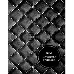 Item Inventory Template: Office Supplies Inventory Log