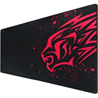 Mouse Pad-Exco Thick Smooth Extra Large Gaming Mat Smooth Surface Non-Slip Rubber Mouse Pad with Designs for Office and…