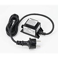 VBLED® Buitenstekker voeding transformator 12 V AC / 12 W / IP67 voor de werking van lampen met IP44 insteeksysteem…