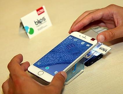 Blips ultra labkit kit da tavolo per trasformare lo smartphone