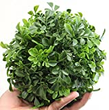 Artificial Boxwood Ball Topiary (7 Inch) - Decorative Sphere Globe