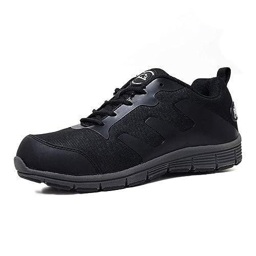 Zapatillas de seguridad de mujer Groundwork GR95, con puntera de acero, talla 36 a 41: Amazon.es: Zapatos y complementos