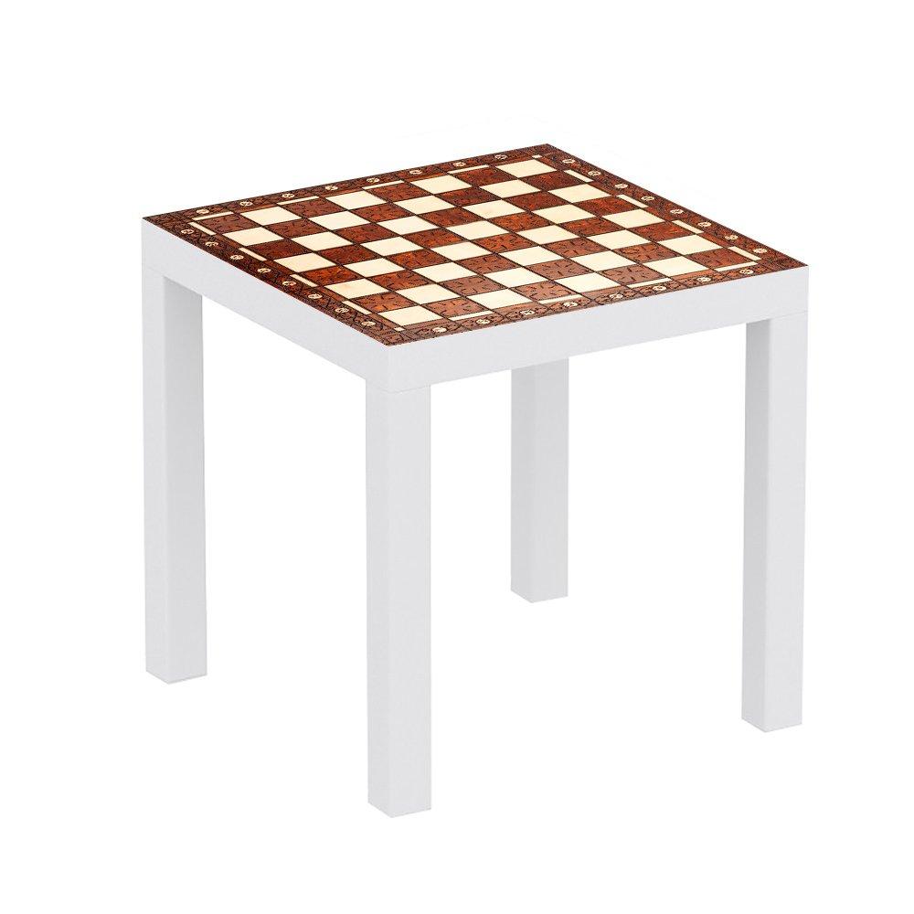 Mesa Ikea Lack Personalizada Tablero Ajedrez Antiguo Imitaci N  # Muebles De Cocina Jaque Mate