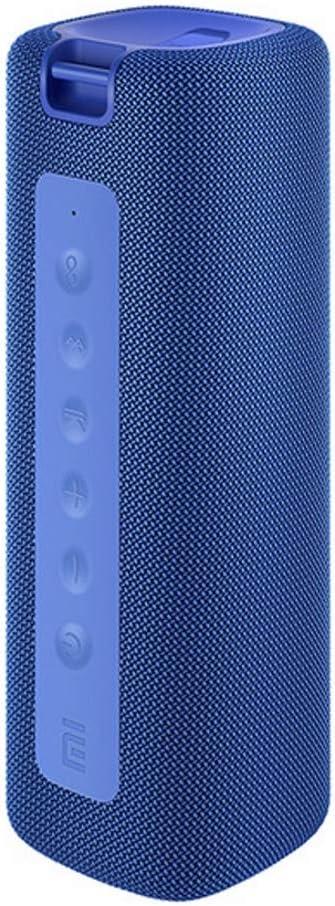 Xiaomi Altavoz Bluetooth Portátil con Sonido Estéreo Fuerte, 13 Horas de Reproducción, Micrófono Incorporado, Altavoz Inalámbrico Portátil, Azul