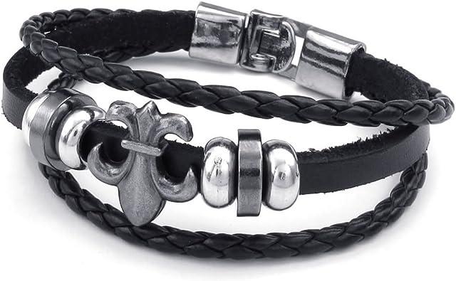bracelet cuir homme konov