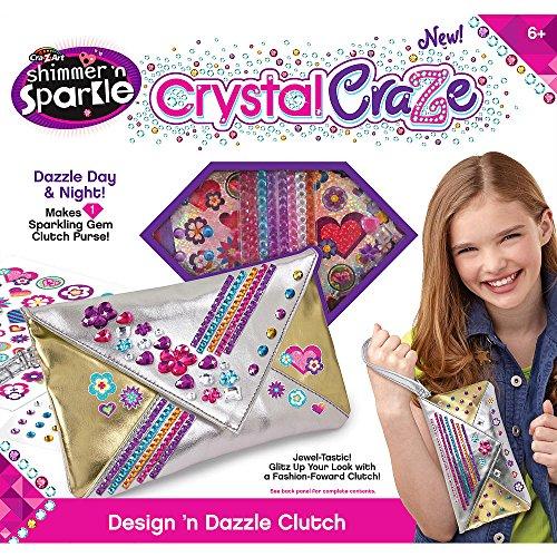 Cra Z Art Crystal Design Dazzle Clutch
