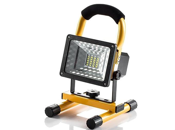15 W portátil proyector recargable Super Floodlight 24LEDs ...