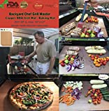 #6: Backyard Chef Grill Master Copper Grill Mat - Baking Mats - Set Of 3 - Best Gifts for Men - Premium Non Stick BBQ Grill Mats - Heavy Duty - Reusable - Great Gift Idea Best Grilling Accessories