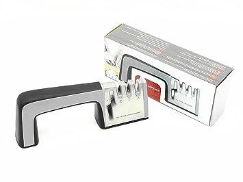 EBSHOW Afilador de cuchillos y tijeras profesional afilador ...
