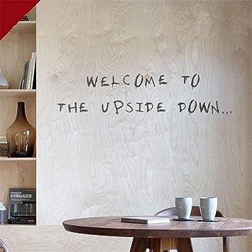 Stranger Things Scary Text Wandtattoo Scary Benutzerdefinierten Text Aufkleber Wills Schriftart Wall Alphabet Stranger Benutzerdefinierten Text Stranger Things Font Eigenen Text Spooky Amazon De Baumarkt