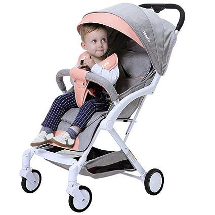 Bebé Cochecito De Vehículo Todoterreno Ultra-Ligero Portátil De Cuatro Ruedas Carrito De Bolsillo De