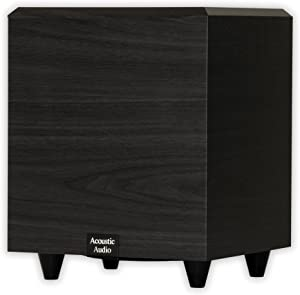 Acoustic Audio PSW-15 Down Firing Powered Subwoofer (Black)