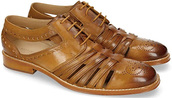 MELVIN /& HAMILTON MH HAND MADE SHOES OF CLASS Phil 14 Brogues Homme