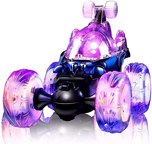 Kedorle 360 Grados Flips Control Remoto Coche Stunt Rolling Toy ...