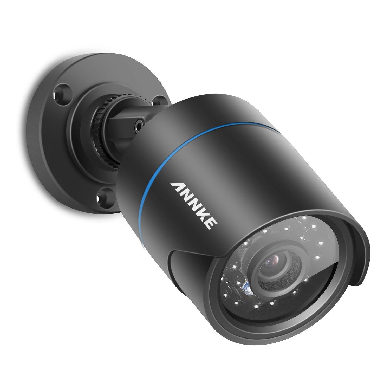 ANNKE 720P TVI/AHD/CVI 3 in 1 camera CCTV Security Camera System, Super Night Vision, Bullet Camera Weatherproof IP66 Casing SP-C11BE0103