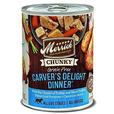 Merrick Chunky Grain Free Carver's Delight Dinner Wet Dog Food