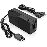 Xbox One Power Supply Brick, AC Adapter Charger with Power Cord for Xbox 1 Console, Worldwide Use 100V-240V