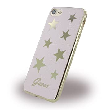 Guess Stars PU Soft Carcasa para Apple iPhone 7: Amazon.es ...