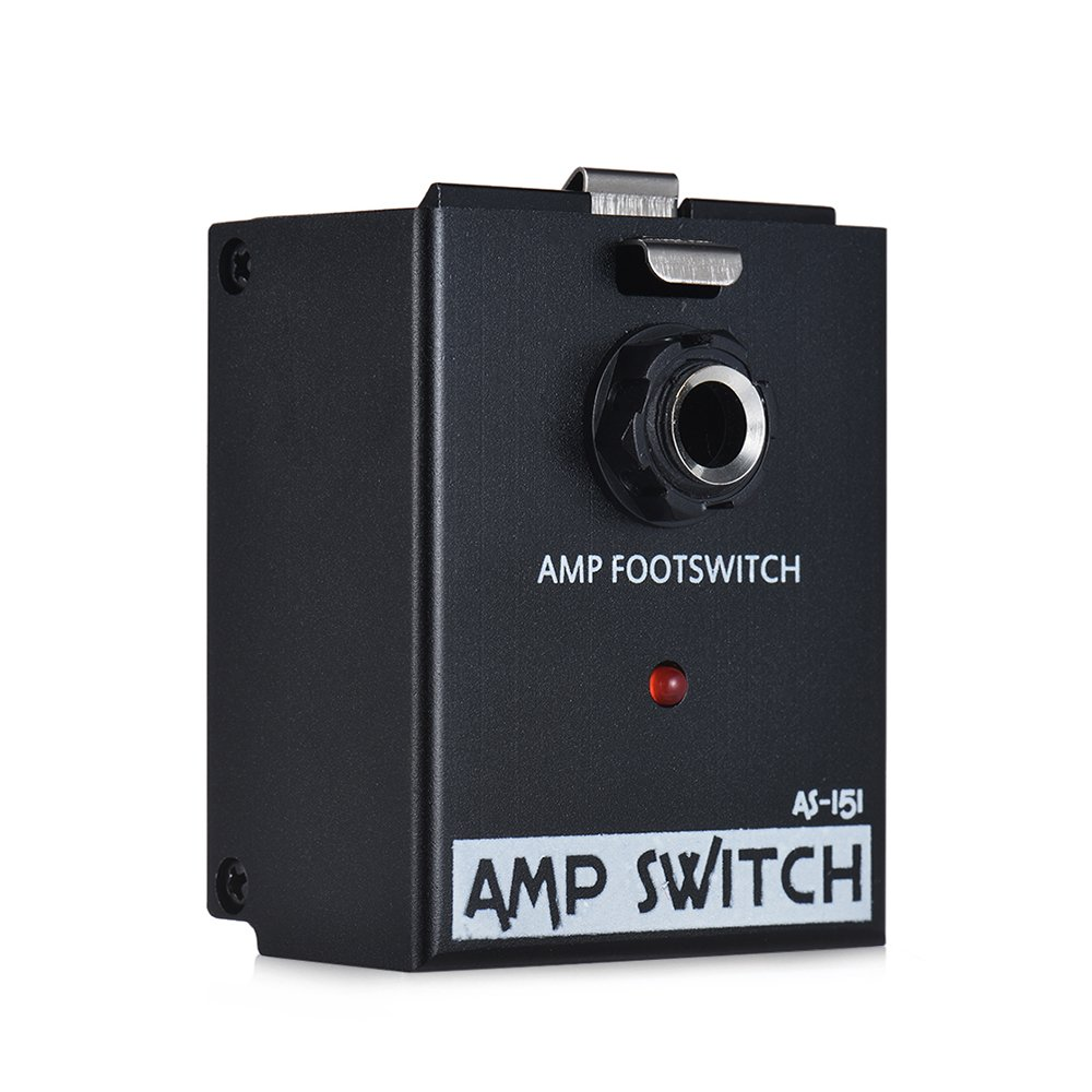 ammoon AS-151 AMP Footswitch Amplifier Switch Guitar Effect Pedal Module True Bypass BIYANG LiveMaster Series by ammoon