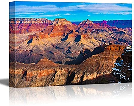 Amazon Com Canvas Prints Wall Art The Beautiful Landscape Of Grand Canyon National Park Arizona Posters Prints