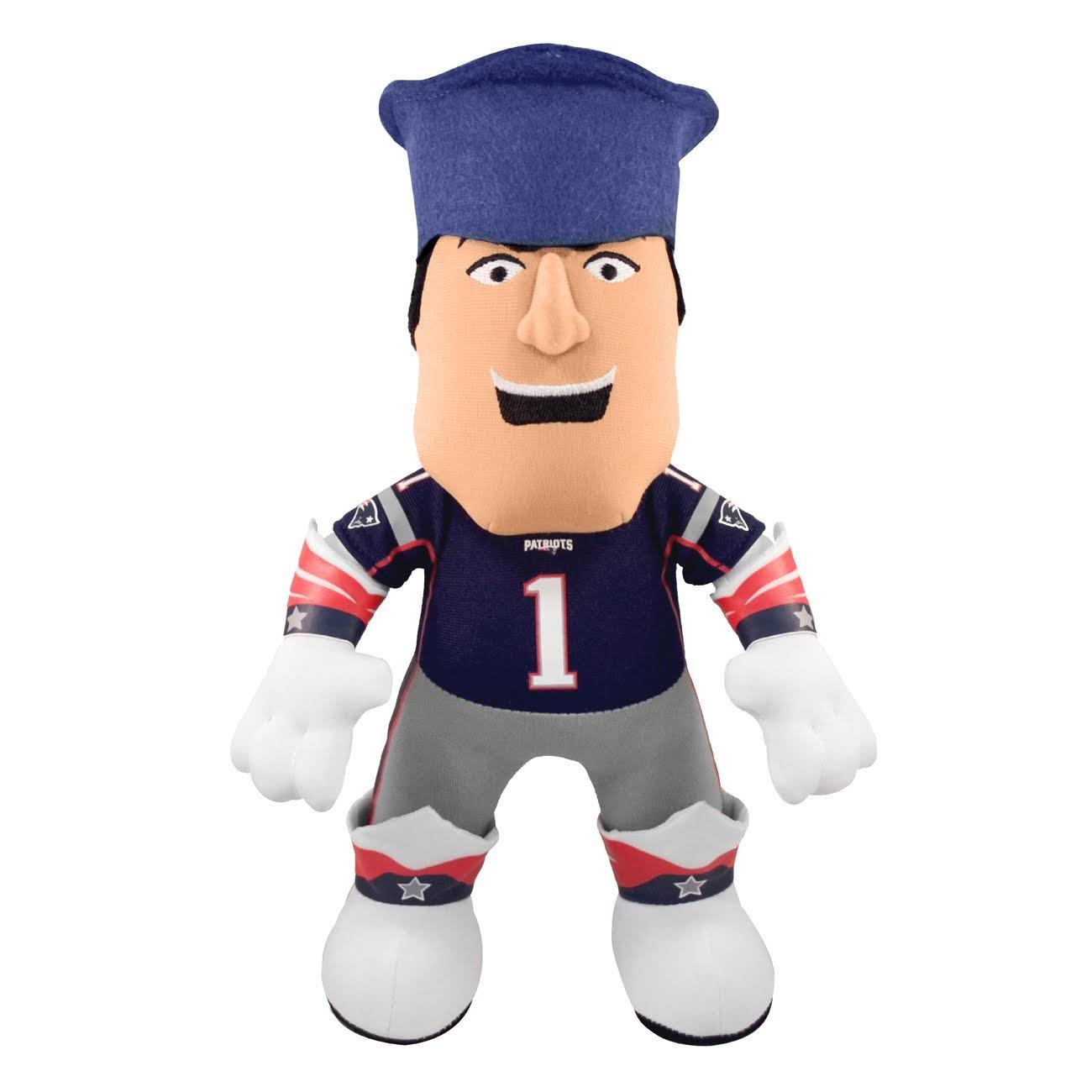 Amazon.com   Bleacher Creatures NFL New England Patriots Pat The Patriot  Mascot Plush Figure e8a893e8b26a
