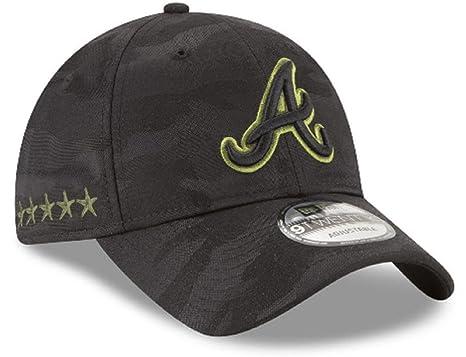 Amazon.com  New Era Authentic Atlanta Braves Memorial Day 9TWENTY  Adjustable Hat - Black Camo  Sports   Outdoors 4df0a1f7be4