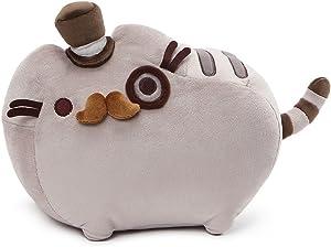 "GUND Pusheen Fancy Cat Plush Stuffed Animal, Gray, 12.5"""